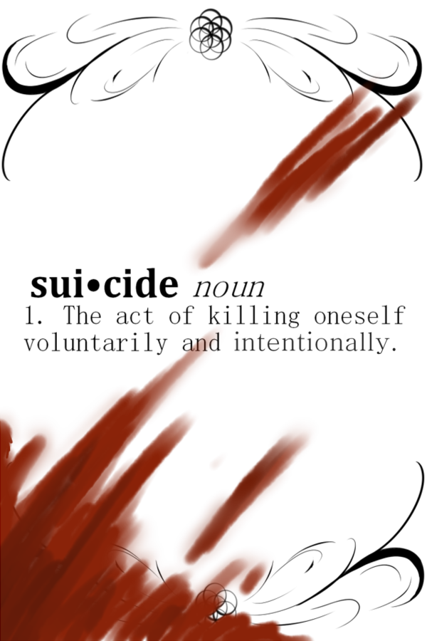 Suicide, Noun - The Act of Killing Oneself Voluntarily and Intentionally