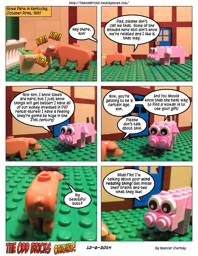 Odd Bricks Origins: Mega Pig