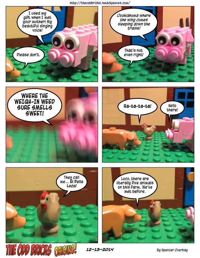 Odd Bricks Origins: Mega Pig 2