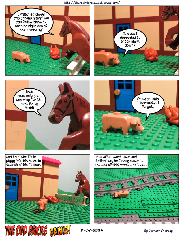 Odd Bricks Origins: Mega Pig 5