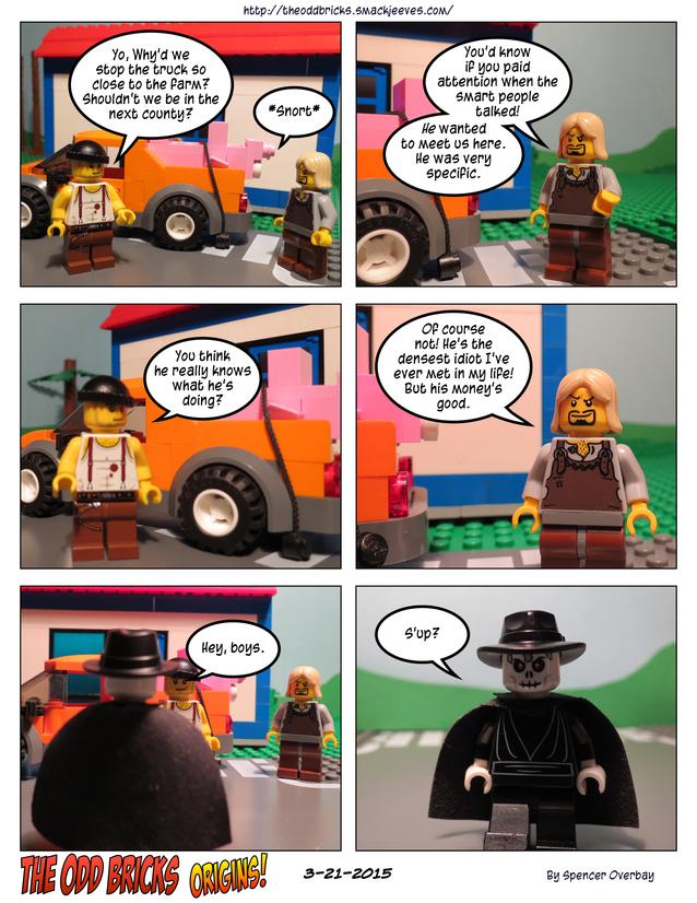 Odd Bricks Origins: Mega Pig 6