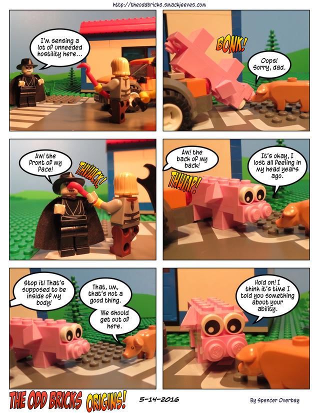 Odd Bricks Origins: Mega Pig 10