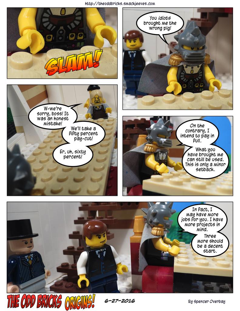Odd Bricks Origins: Mega Pig 17