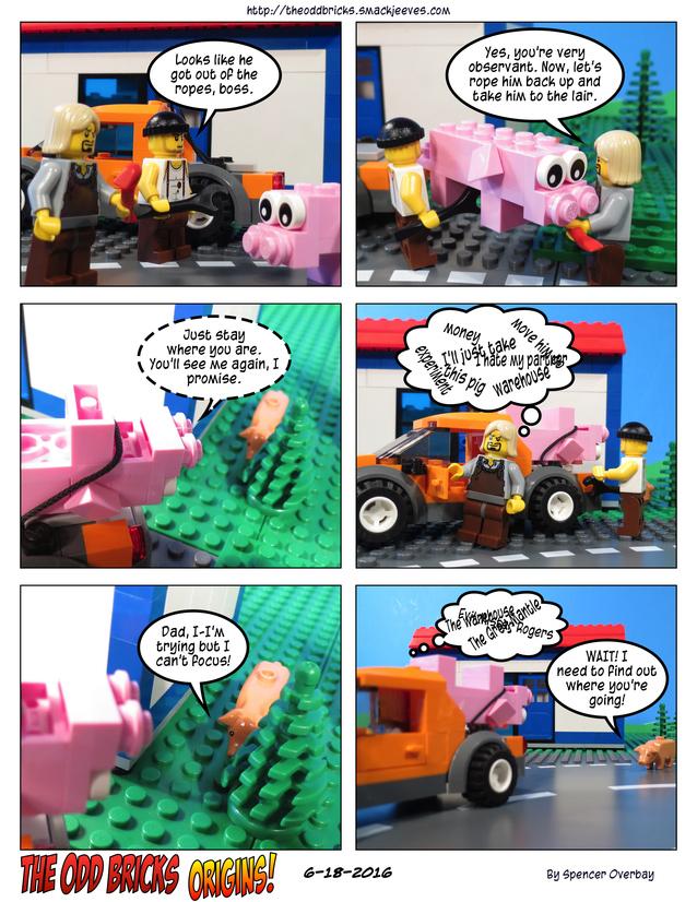 Odd Bricks Origins: Mega Pig 14