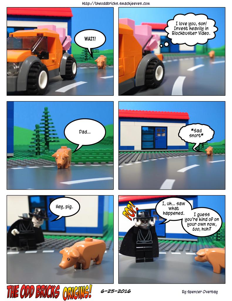 Odd Bricks Origins: Mega Pig 15