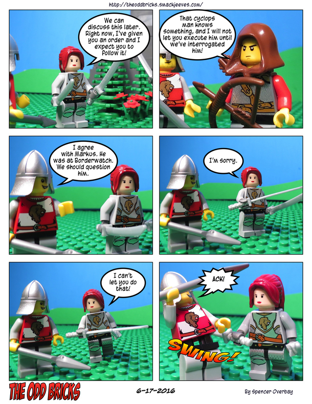These Lego Comics Have Gotten Violent