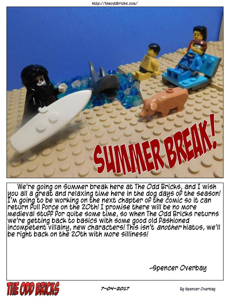 Summer Break!