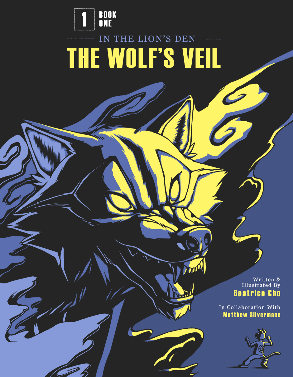 Book 1: THE WOLF'S VEIL cover