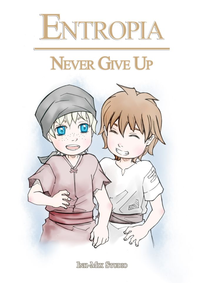 Prequel :: Never Give Up - Cover