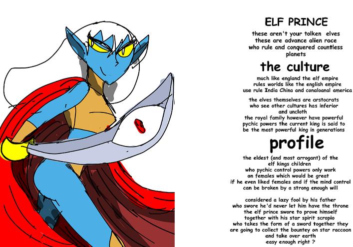 rogue gallery: the elf prince