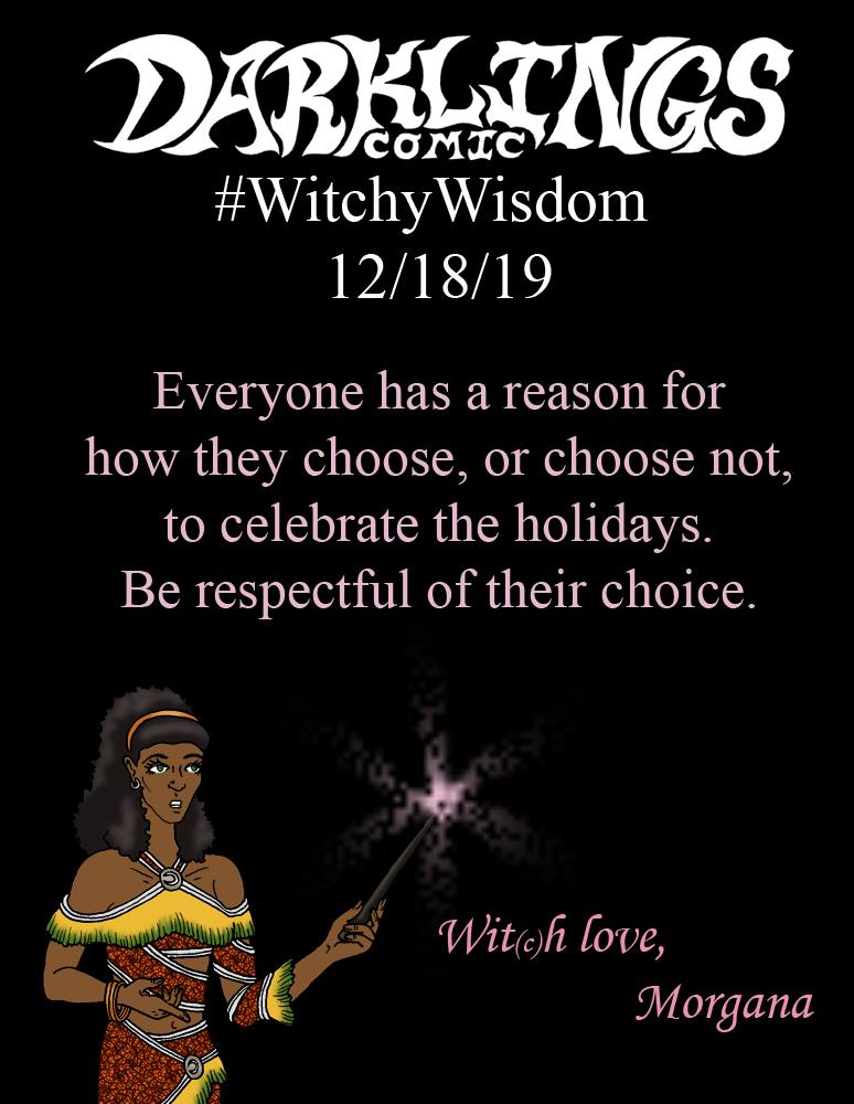 #WitchyWisdom 12/18/19
