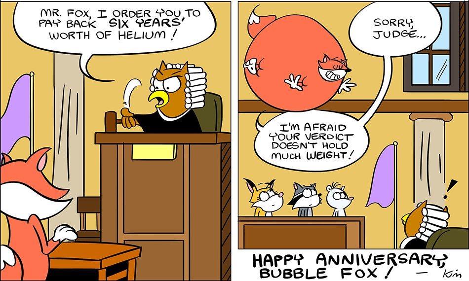 "THE ""HIGH"" COURT!!!  A BUBBLE FOX GUEST COMIC BY KIM BELDING!!!"