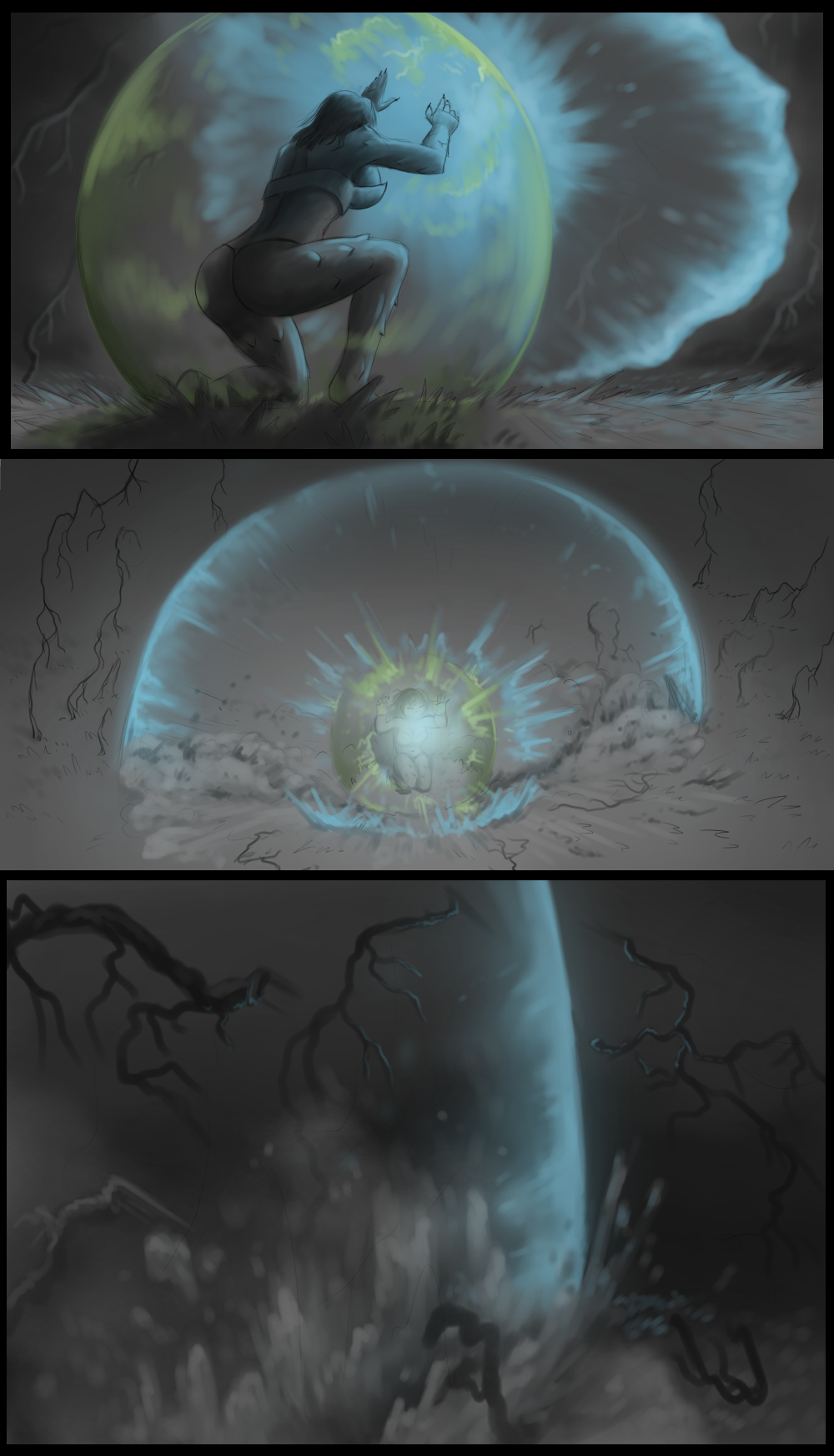 Page 85 - Battle against Glowslimer (Part 32)