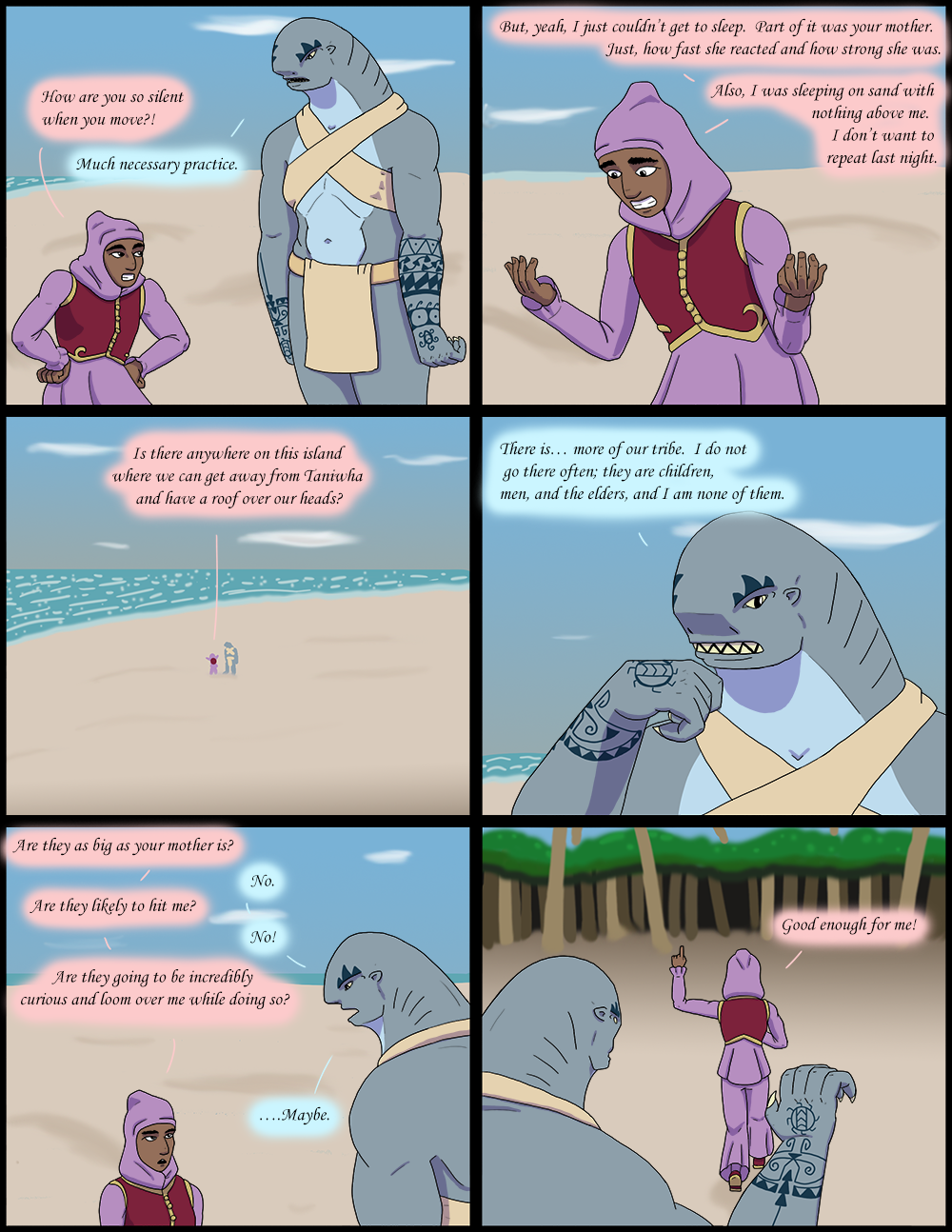 The Wide Ocean - Page 141