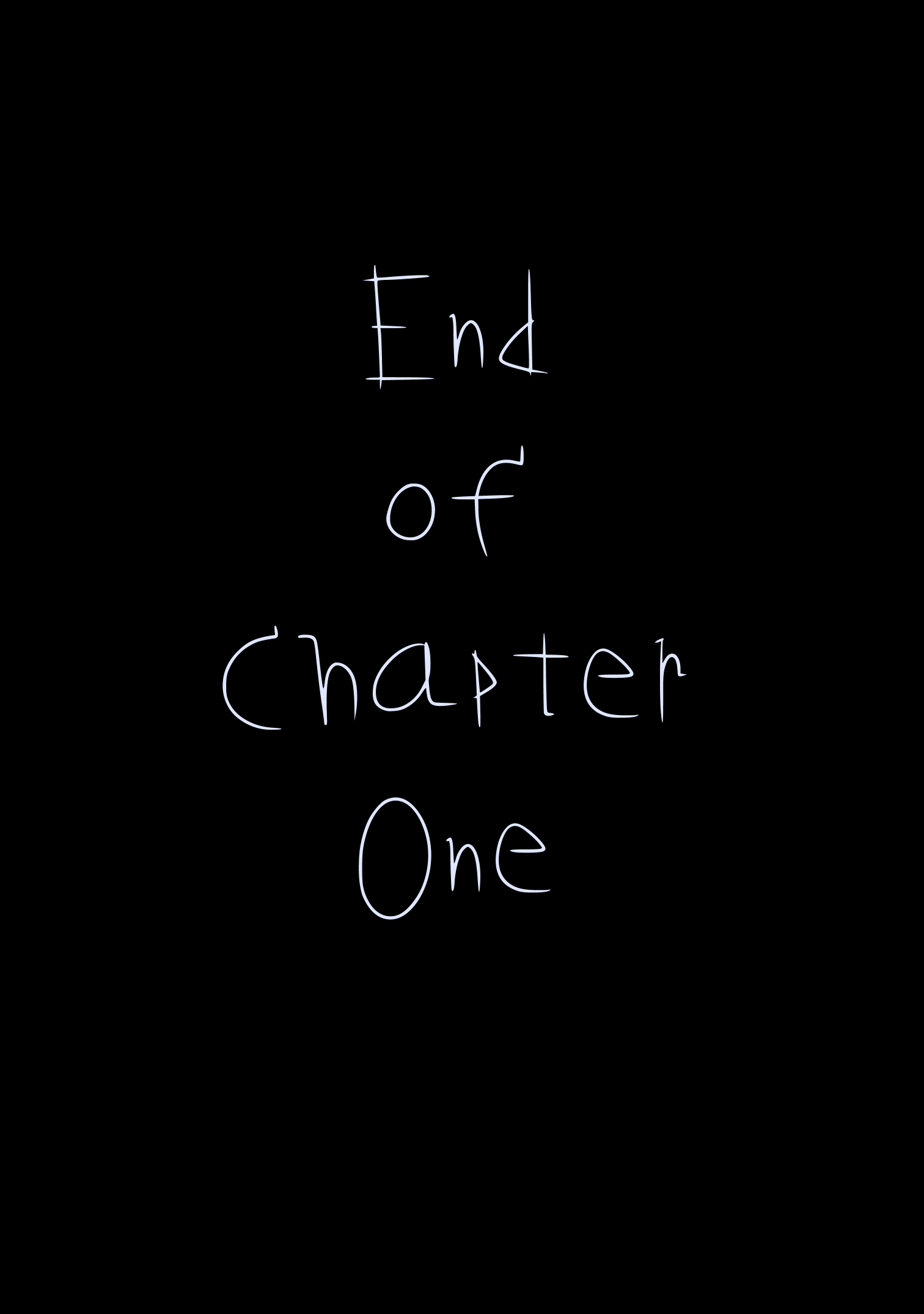 -End of Chapter 1-
