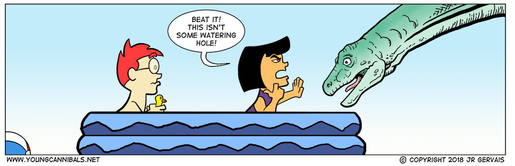 Poolside July: Part 4: Watering Hole