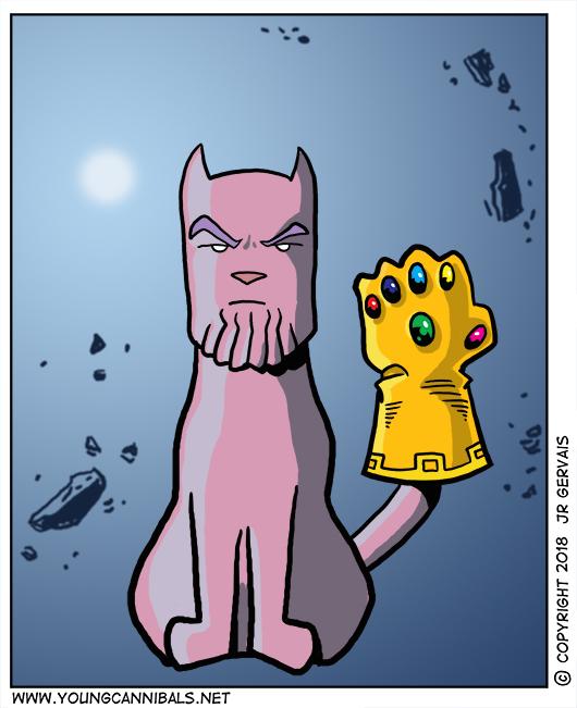 Toad as Thanos