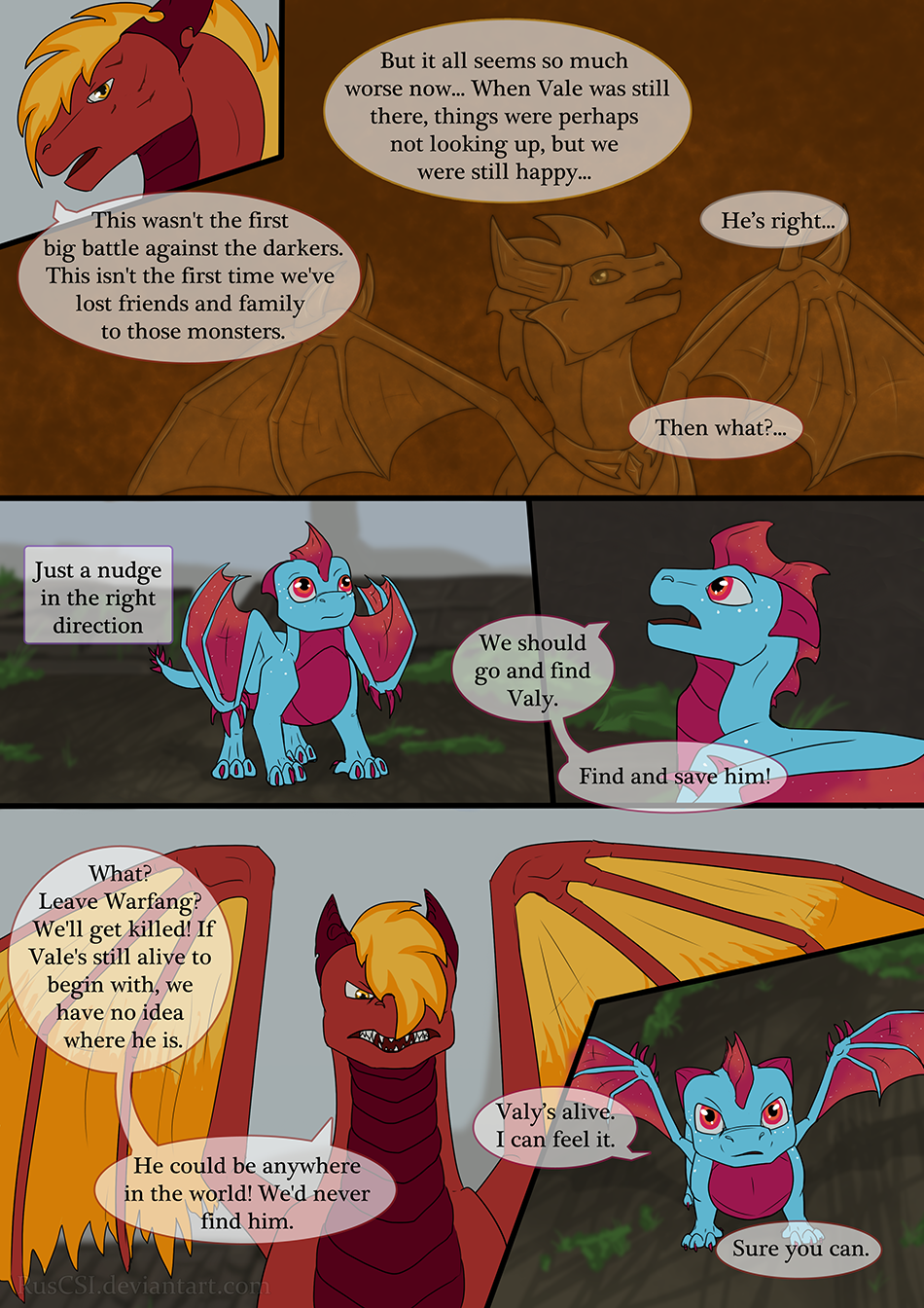 End of the Tunnel - page 54