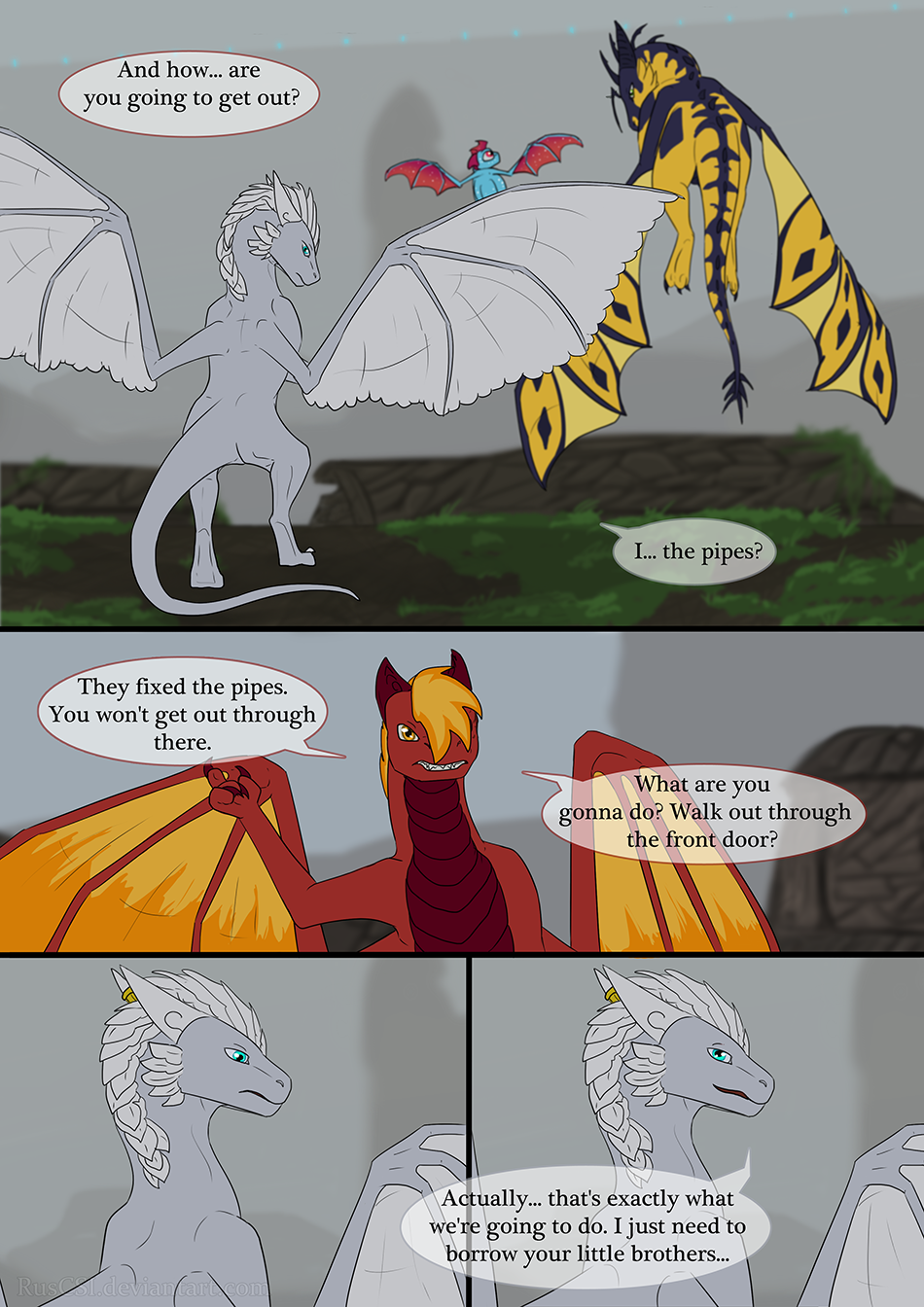 End of the Tunnel - page 58