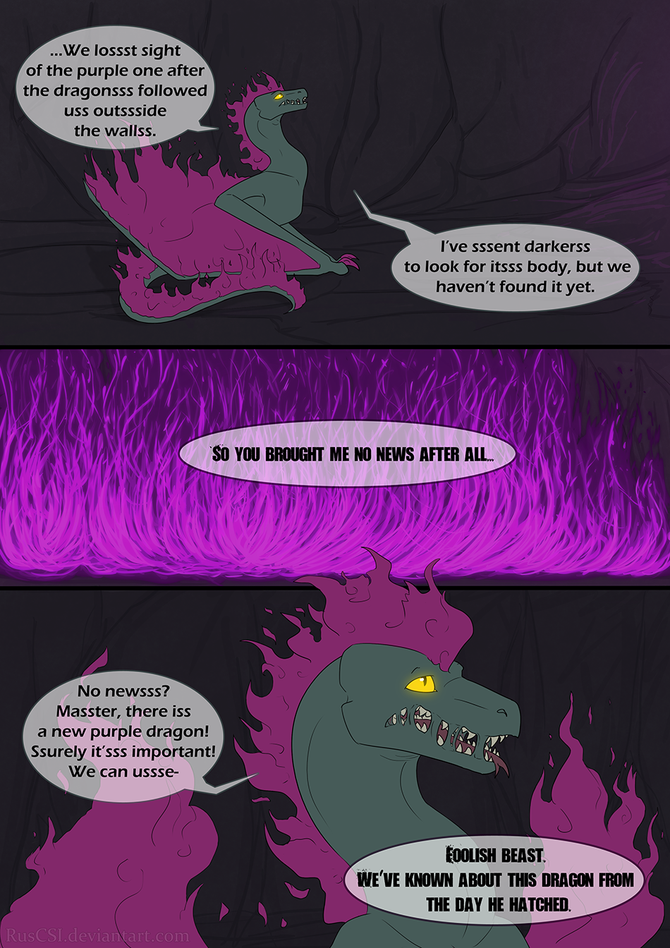 Courage of the cowardly dragon - page 4