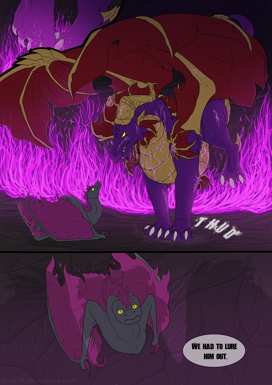 Courage of the cowardly dragon - page 6