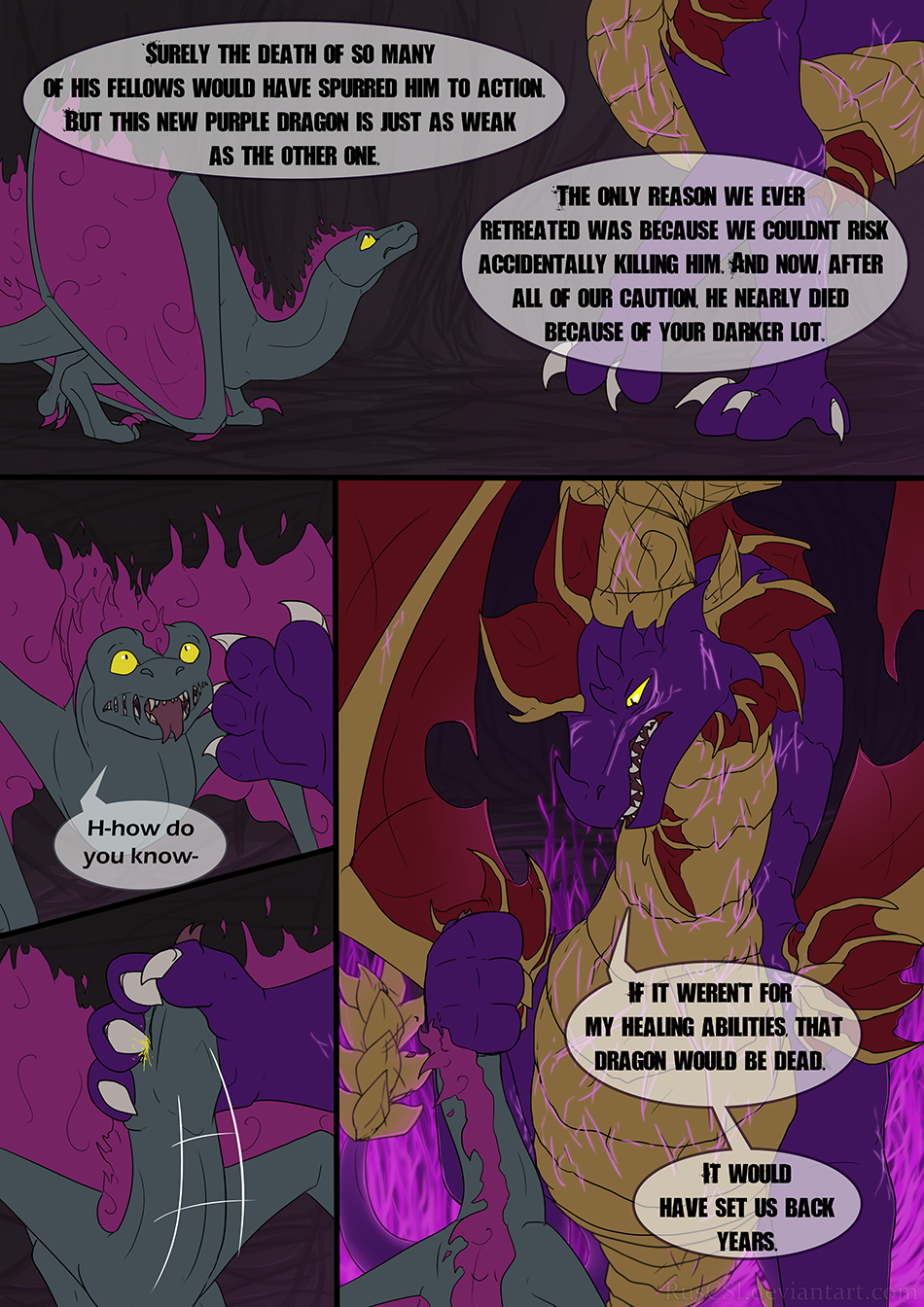 Courage of the cowardly dragon - page 7