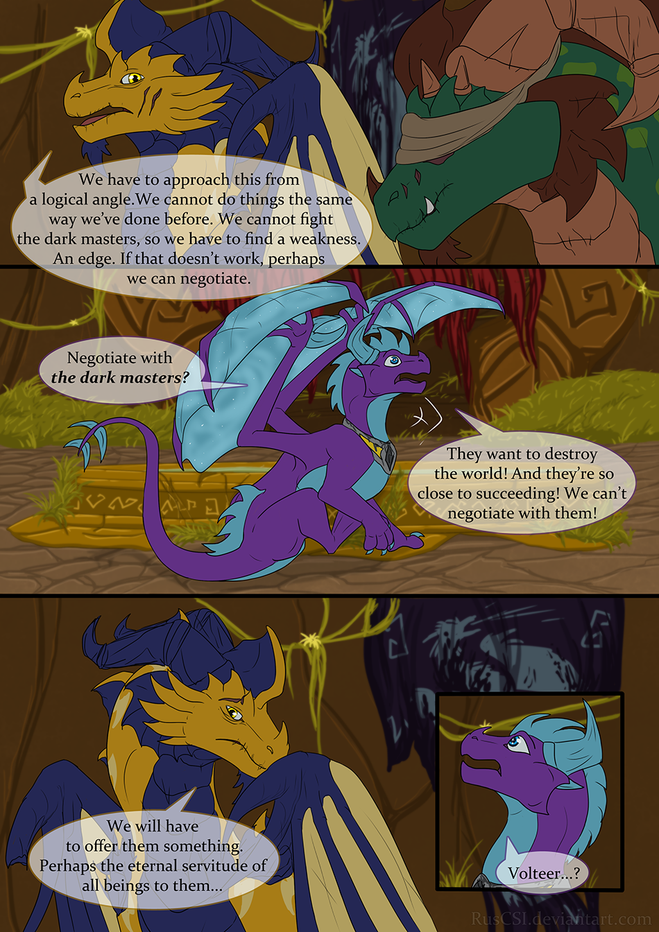 Courage of the cowardly dragon - page 11
