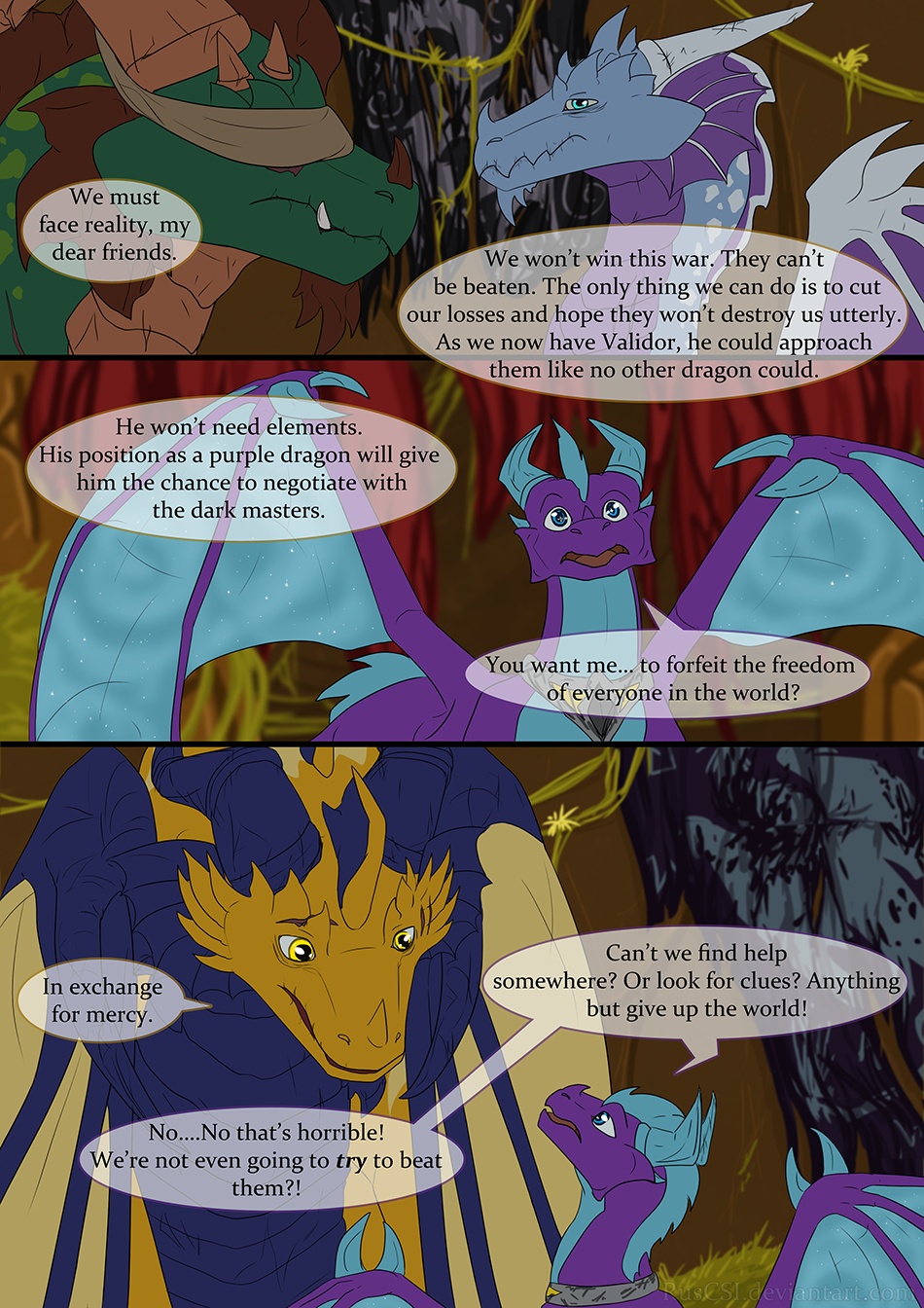 Courage of the cowardly dragon - page 12