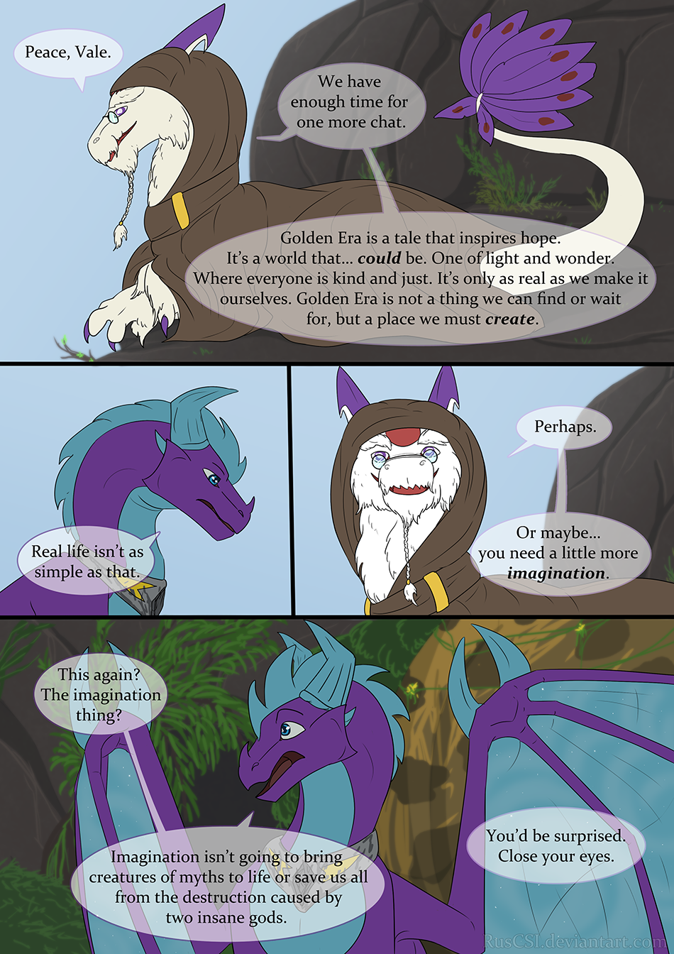 Courage of the cowardly dragon - page 21