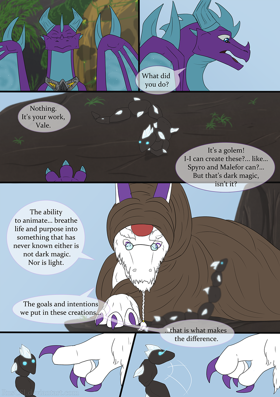 Courage of the cowardly dragon - page 24