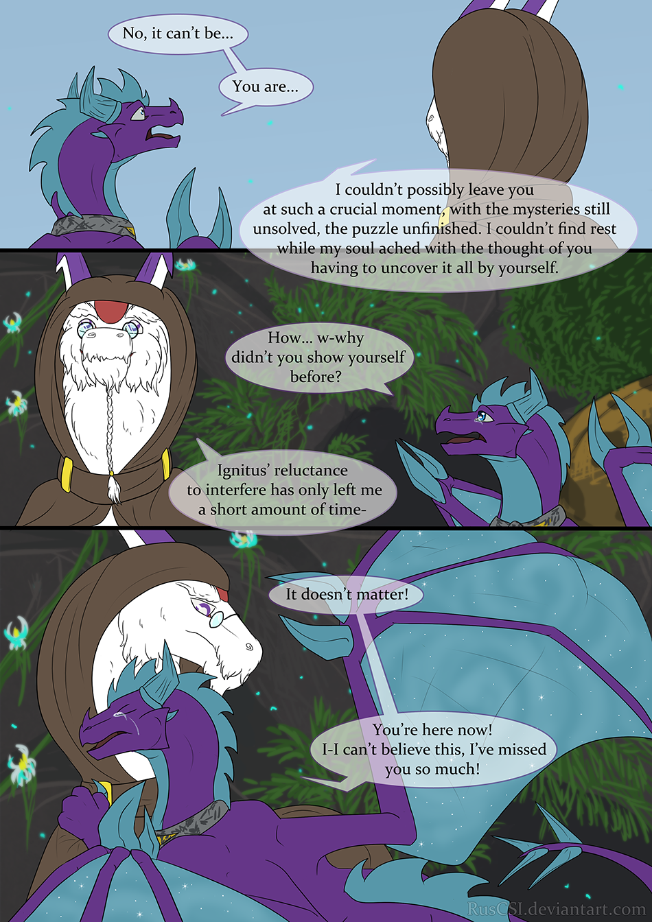 Courage of the cowardly dragon - page 26