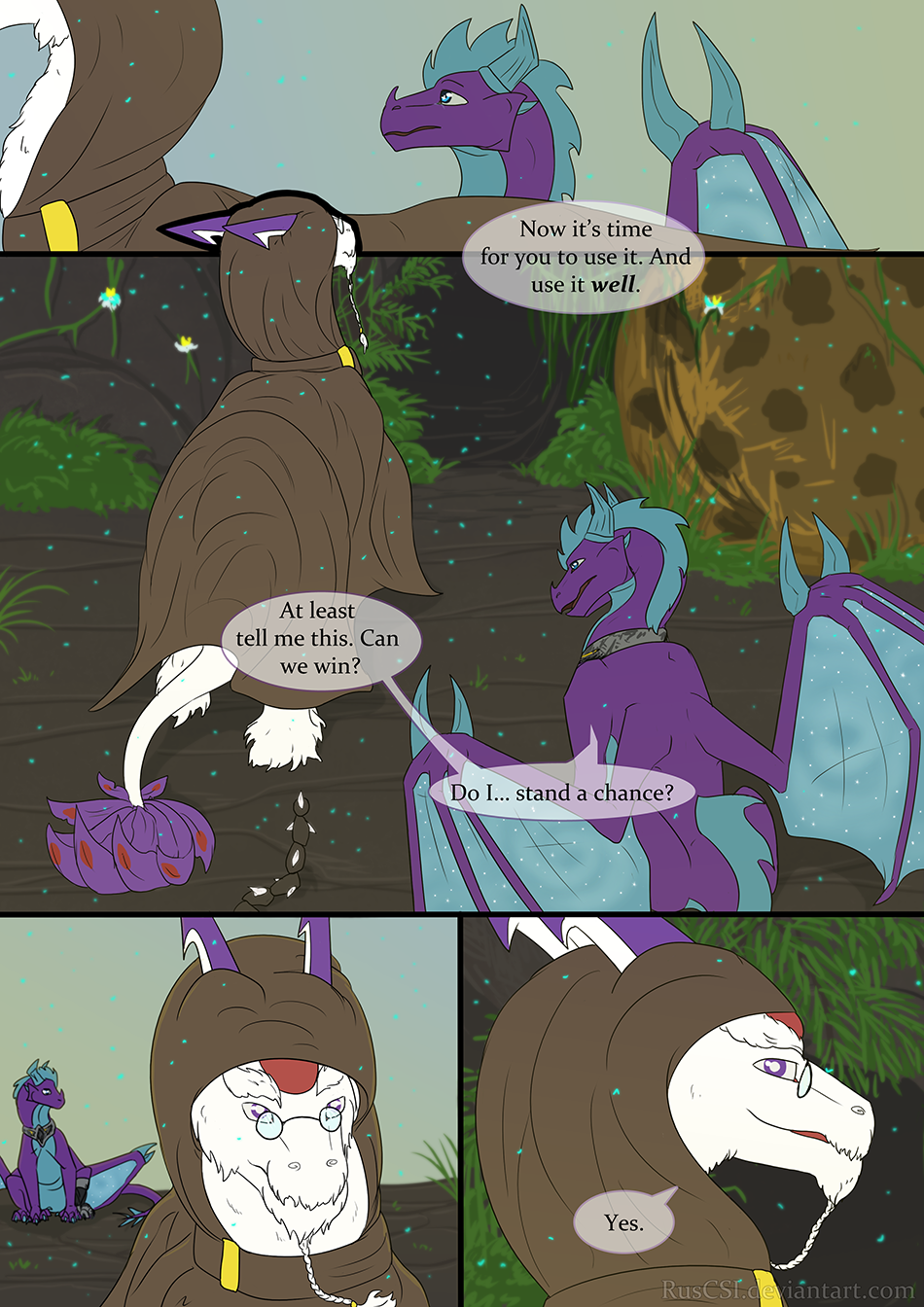 Courage of the cowardly dragon - page 28