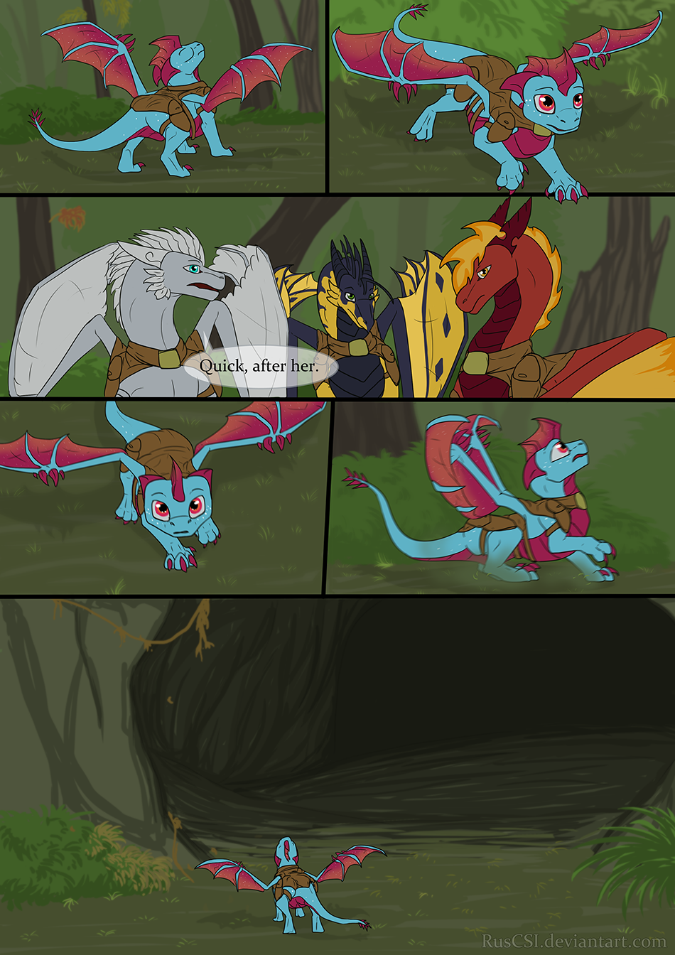 Courage of the cowardly dragon - page 30