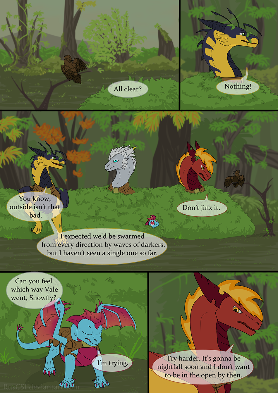 Courage of the cowardly dragon - page 29