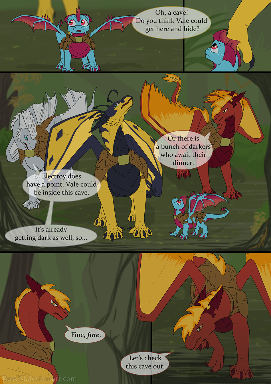 Courage of the cowardly dragon - page 31