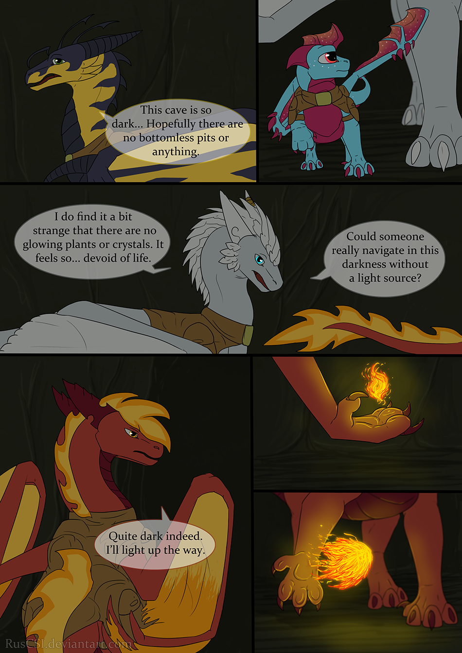 Courage of the cowardly dragon - page 32