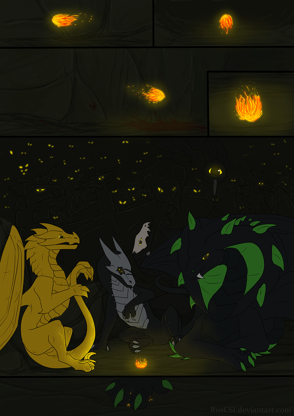 Courage of the cowardly dragon - page 33