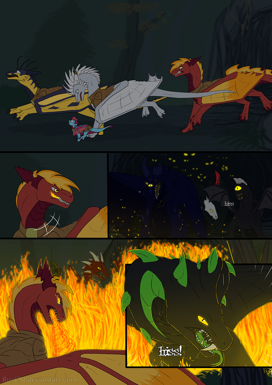 Courage of the cowardly dragon - page 34