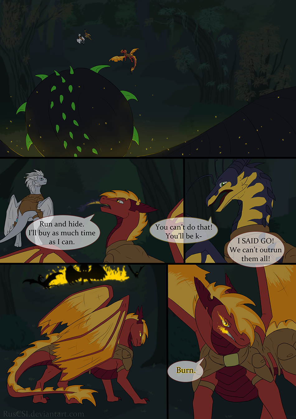 Courage of the cowardly dragon - page 35