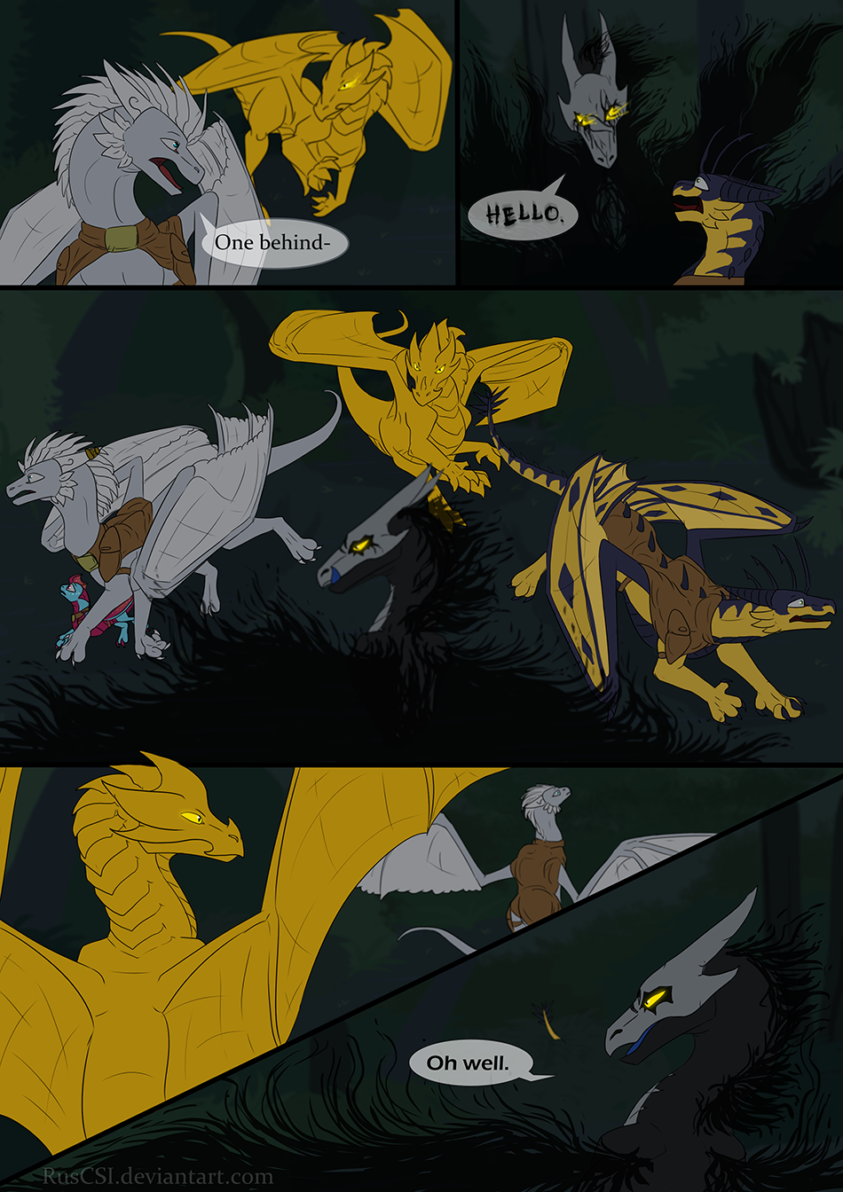 Courage of the cowardly dragon - page 38