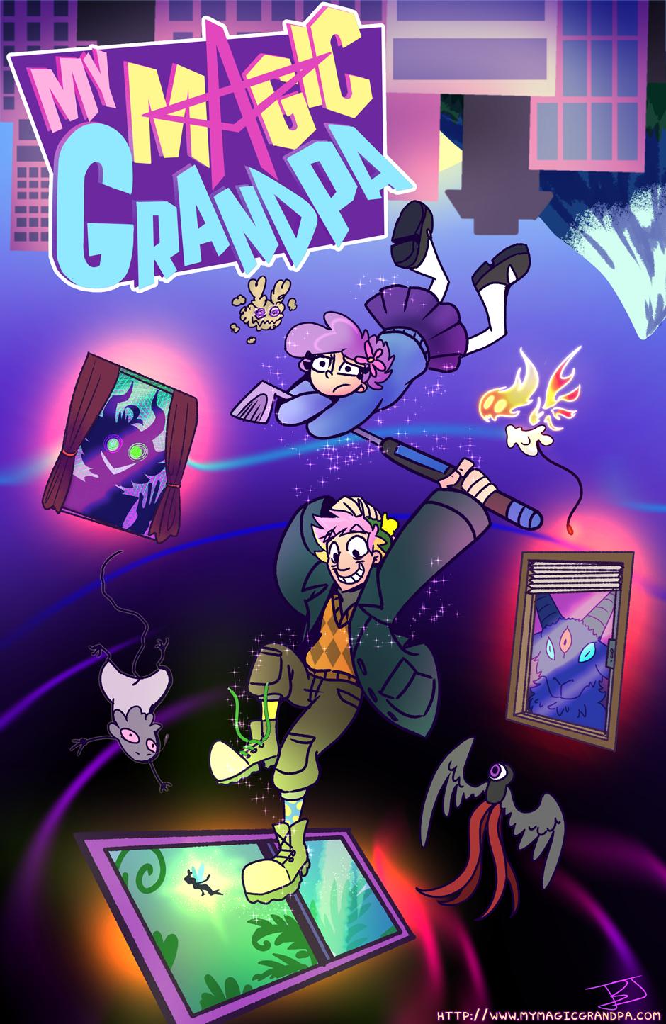 My Magic Grandpa Title