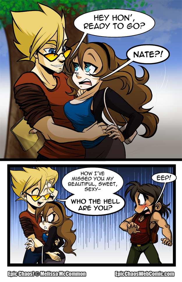 Epic Chaos! Chapter 1 Page 8