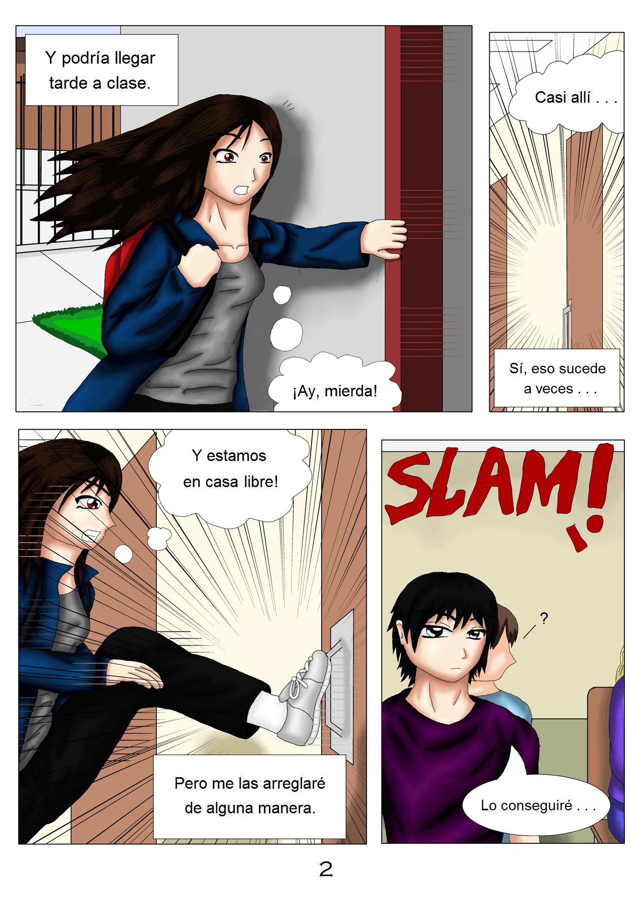 Demon Hunters Capítulo 1 Página 2