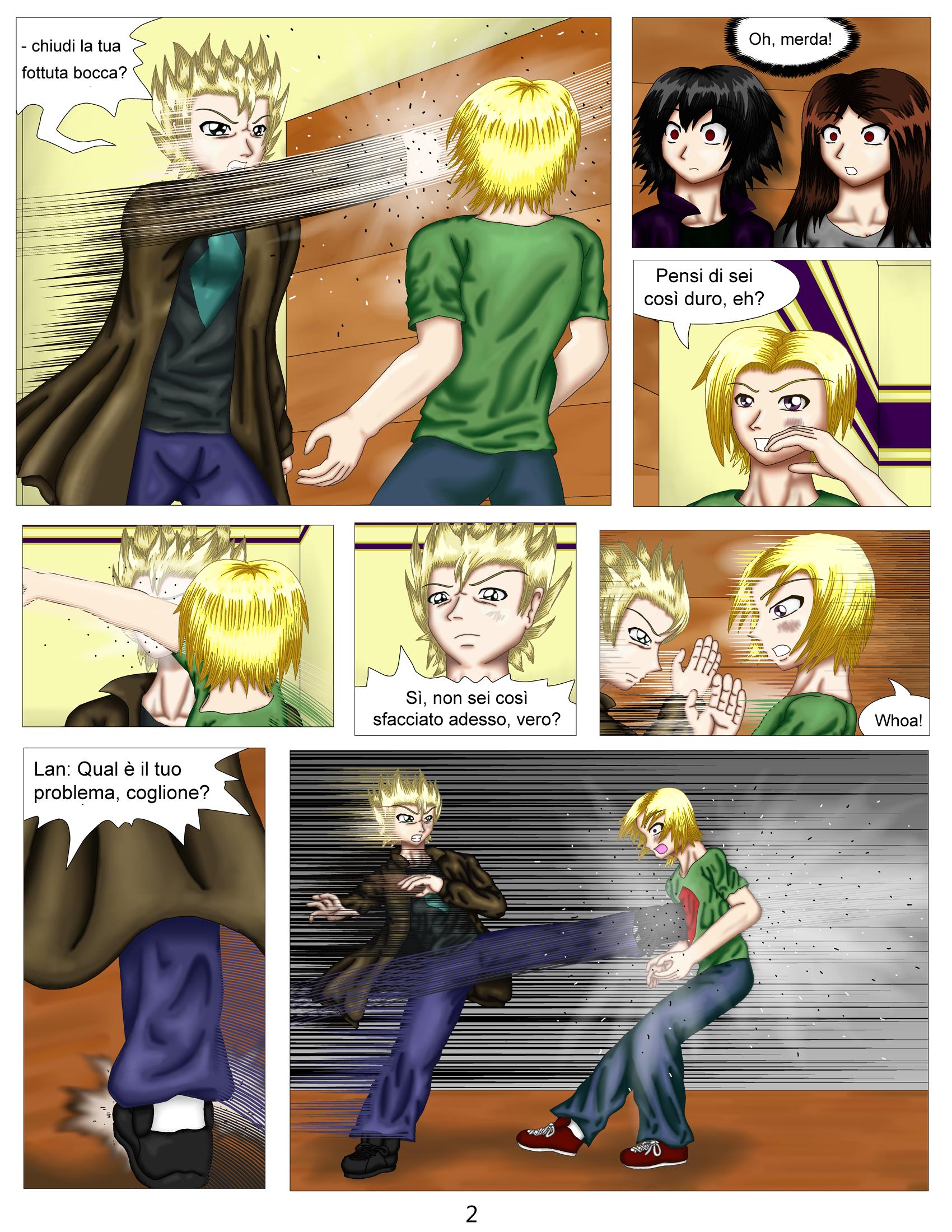 Demon Hunters Capitolo 2 Pagina 2
