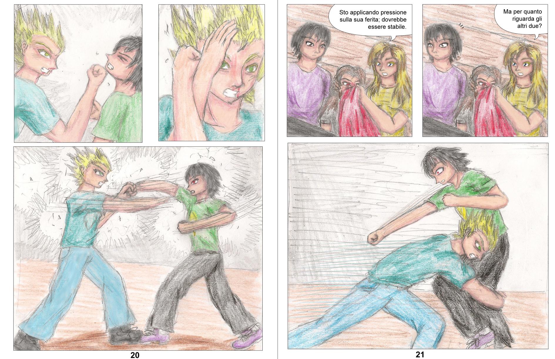 Demon Hunters Capitolo 3 Pagina 20-21