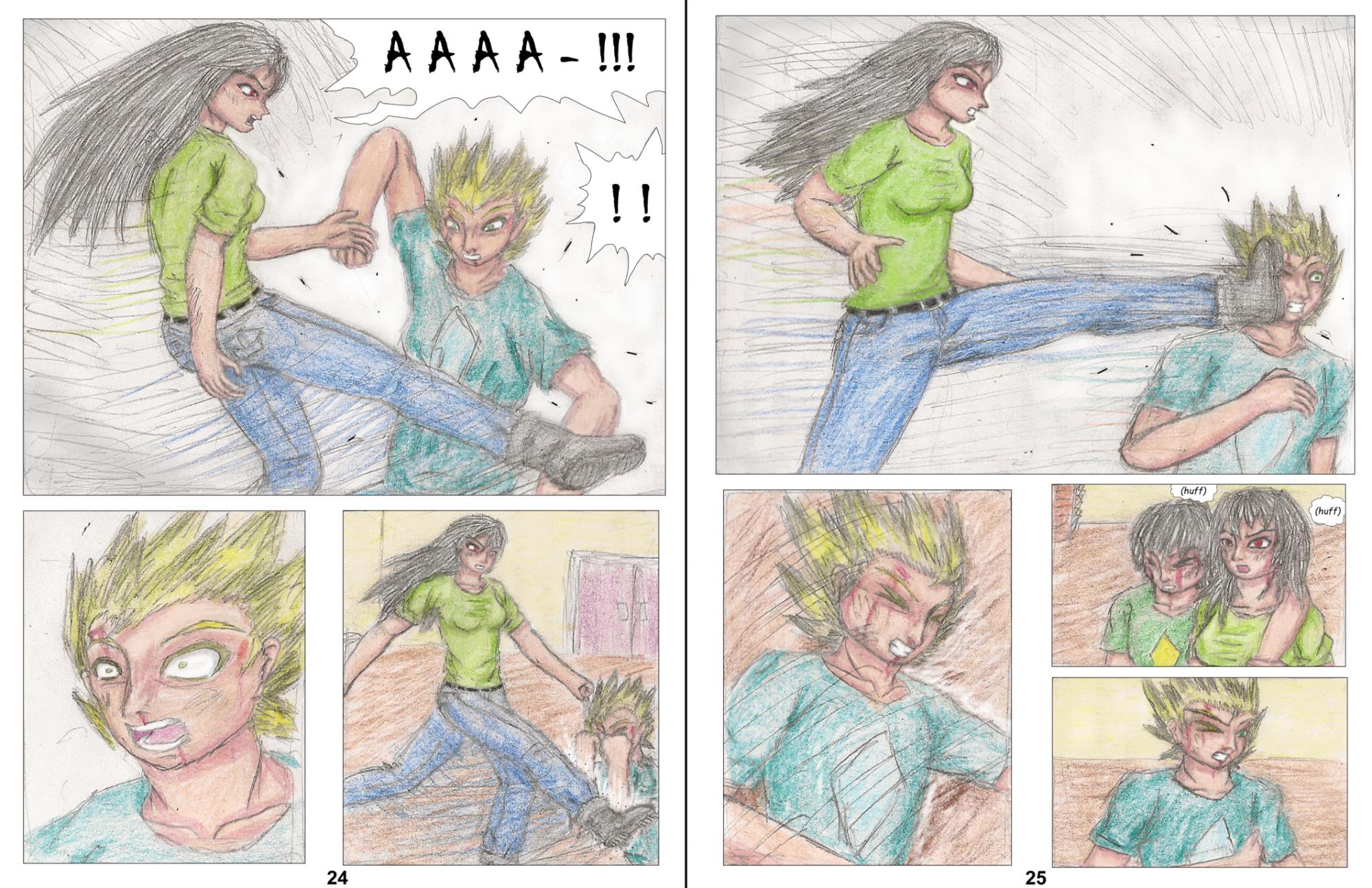 Demon Hunters Capitolo 3 Pagina 24-25