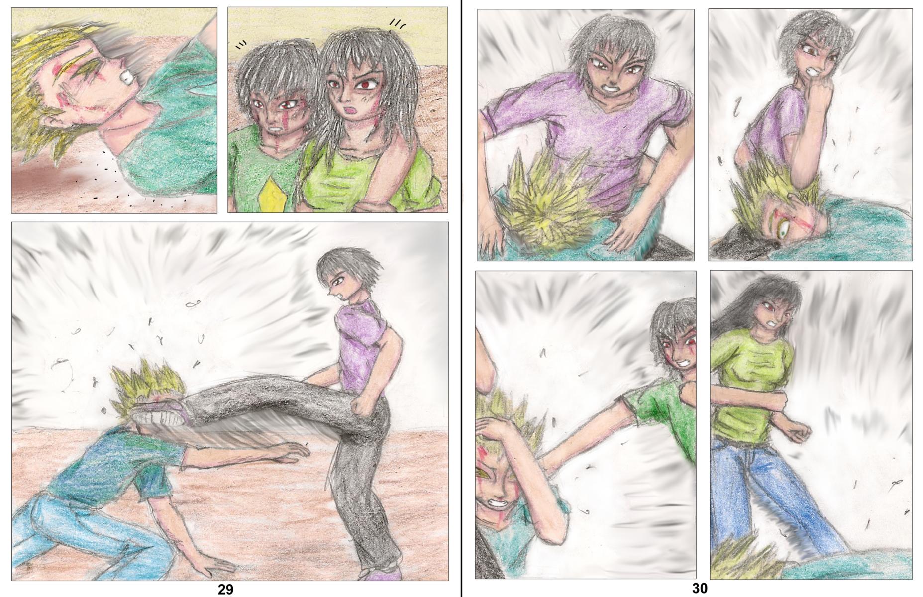 Demon Hunters Capitolo 3 Pagina 29-30