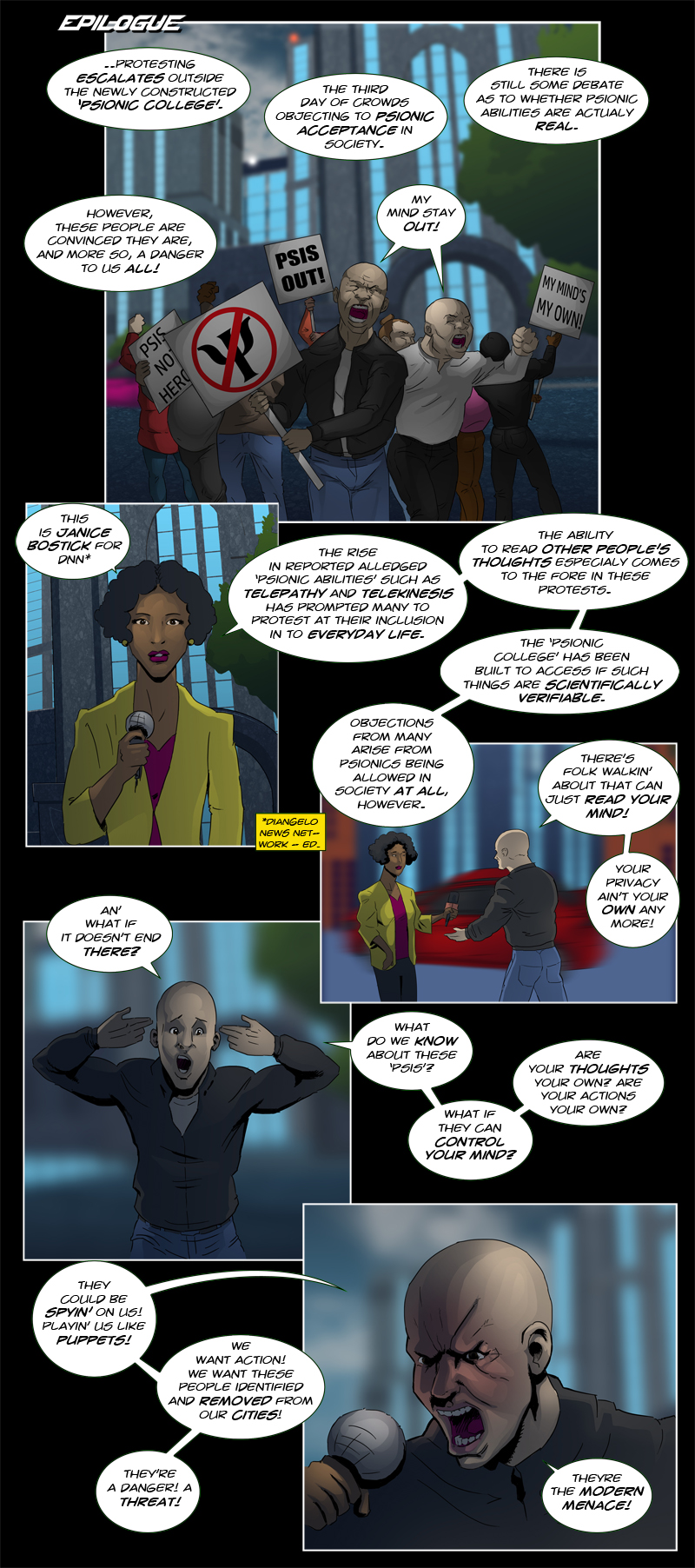 Issue 8 - Page 1
