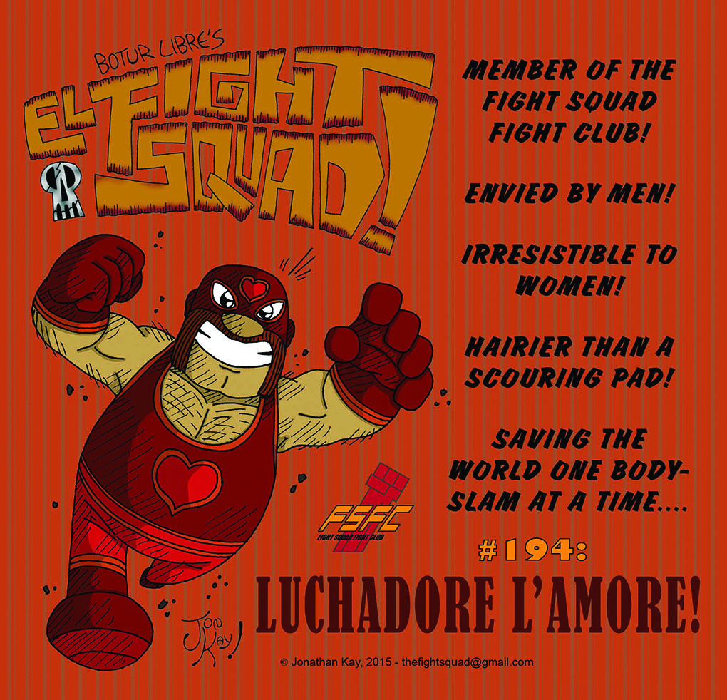 Character profile: Luchadore L'amore