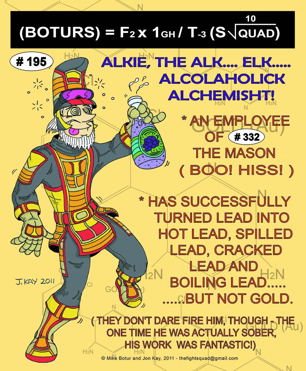 Character profile: Alkie the Alchemist